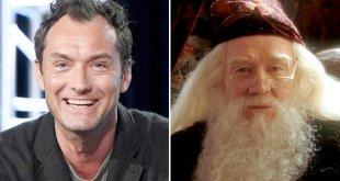 Jude Law en Dumbledore