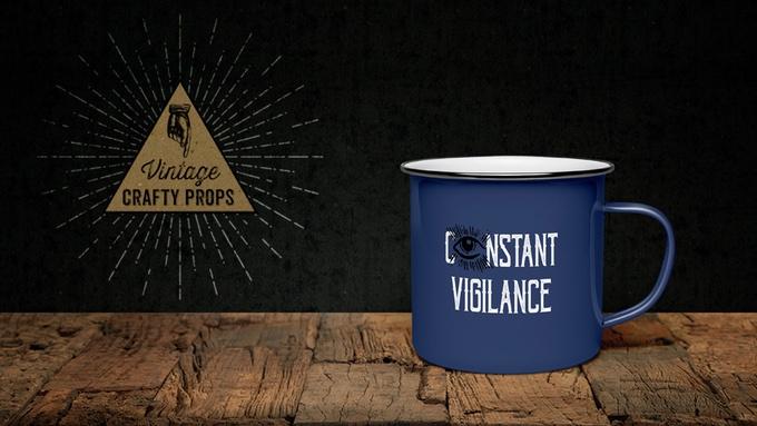 Mug Constant Vigilance inclus dans la nouvelle box