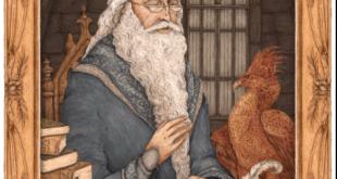 portrait animé de Dumbledore