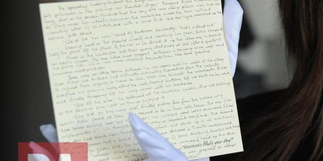Le manuscrit de la Préquelle de J.K. Rowling volé
