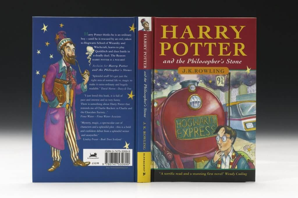 Première édition d'Harry Potter and the Philosopher's Stone