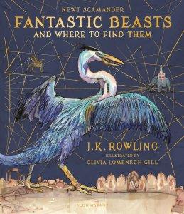 Les Animaux Fantastiques illustrés, Bloomsbury, 2017