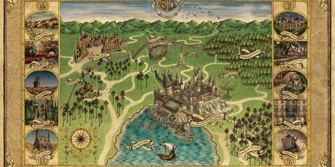 La carte détaillée des lieux de tournage de Harry Potter donne envie de voyager !