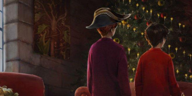 Sur Pottermore, les sorciers aussi fêtent Noël