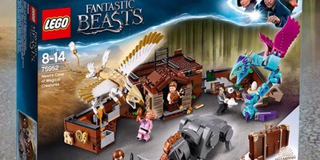 Les Legos Animaux Fantastiques arrivent bientôt !
