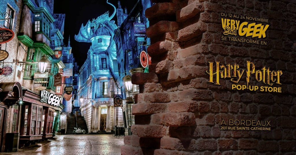 Boutique éphémère Harry Potter