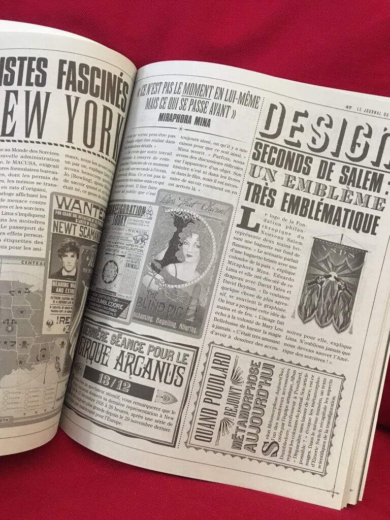 Les Animaux Fantastiques : le journal du tournage