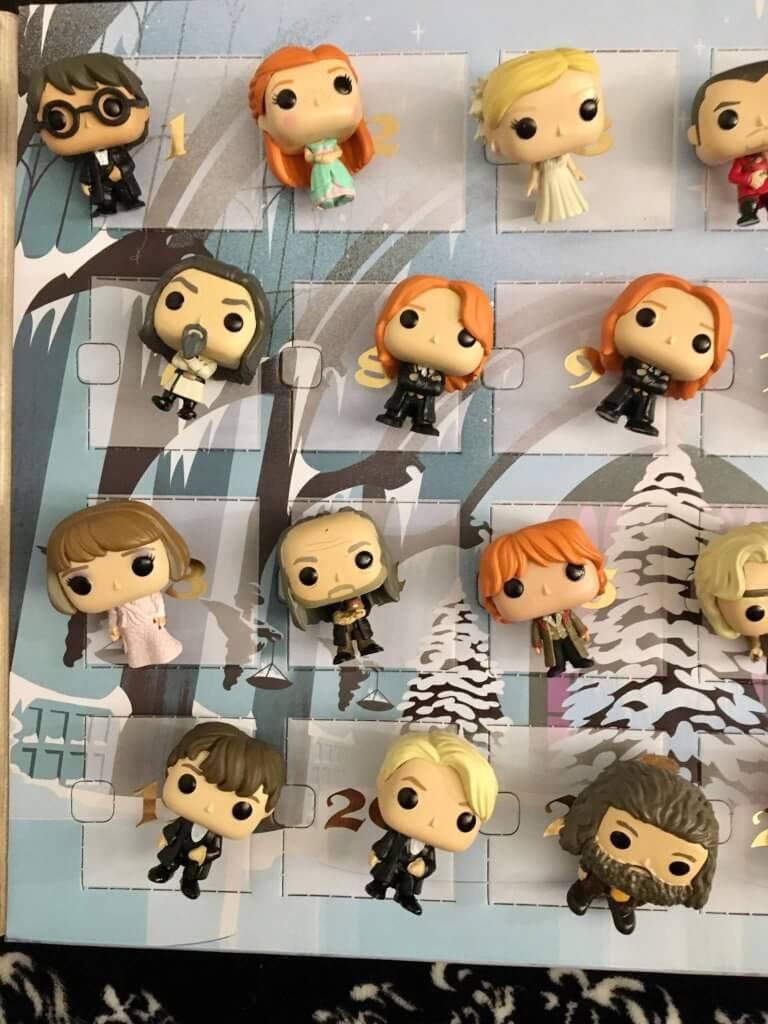 Calendrier de l'Avent Harry Potter Funko pop - détail 12 figurines 2/2