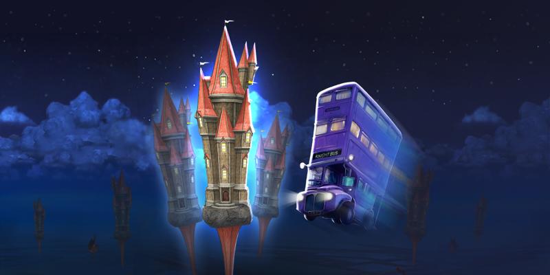 Magicobus Wizards Unite par Niantic