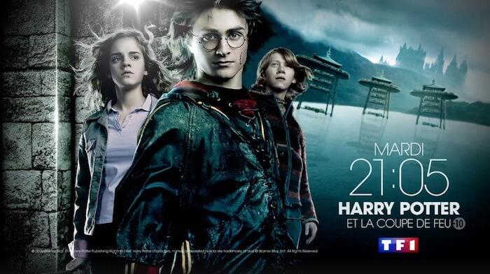 Harry Potter et la Coupe de Feu sur TF1