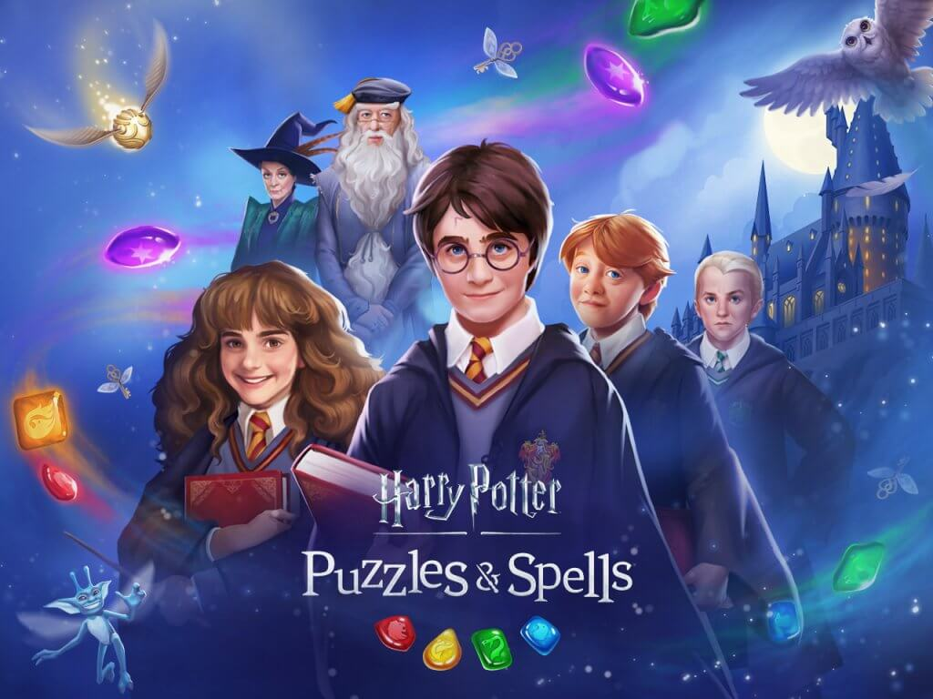 Candy crush harry potter