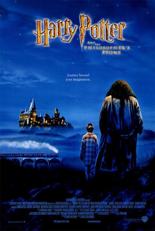 Affiche film HP1