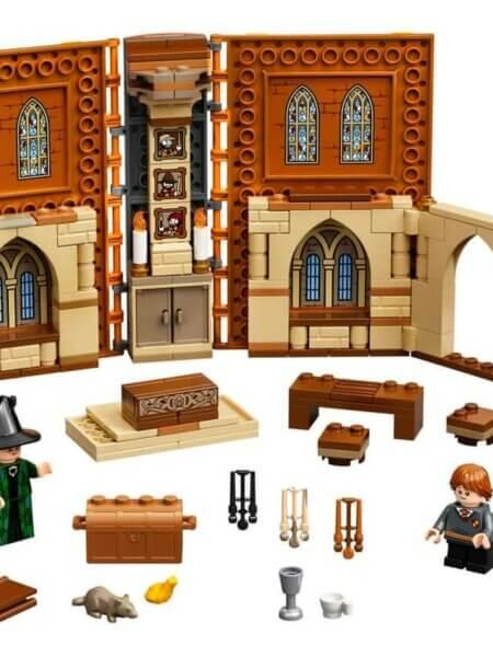 Lego Poudlard métamorphose