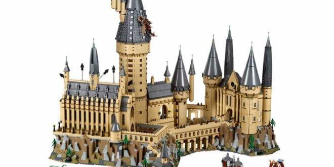 LEGO Le château de Poudlard est de retour