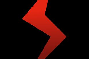 Logo éclair rouge de Poudlard.org